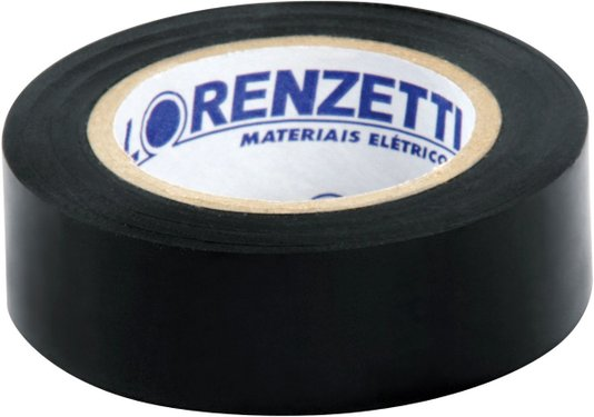 Fita Isolante 19mm x 20 Metros com 10 Rolos - Lorenzetti