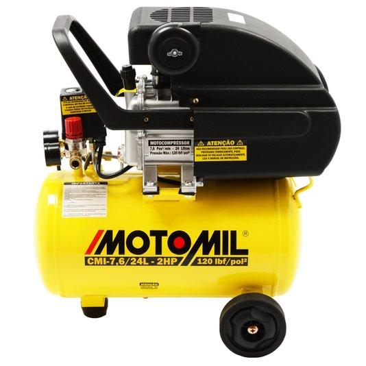Moto Compressor 7,6 / 24 Lts 2HP 220V CMI-7,6/24BR Motomil